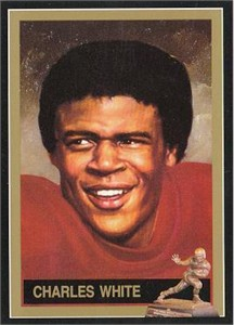 Charles White USC Trojans Heisman Trophy winner card