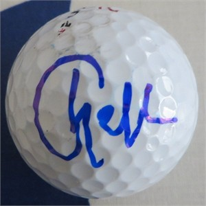 Charley Hull autographed golf ball