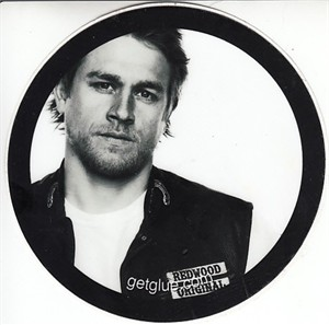 Charlie Hunnam Sons of Anarchy 2013 Comic-Con promo sticker