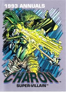 Marvel Annuals 1993 Charon promo card #6