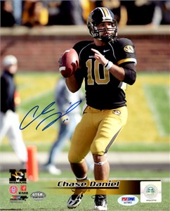 Chase Daniel autographed Missouri Tigers 2007 Sports Illustrated