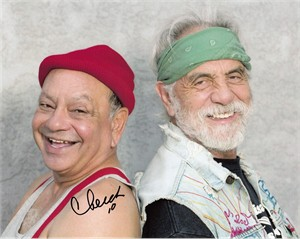 Cheech Marin autographed Cheech & Chong 8x10 photo