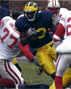Chris Perry Michigan Wolverines 8x10 photo