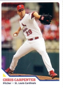 Chris Carpenter 2010 Sports Illustrated for Kids card