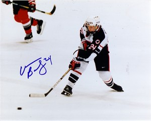 Christine Bailey autographed 1998 USA Hockey 8x10 photo