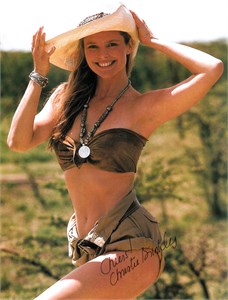 Christie Brinkley autographed Sports Illustrated Swimsuit issue full page magazine photo