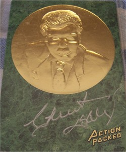 Chuck Daly certified autograph 1994 Action Packed Hall of Fame card