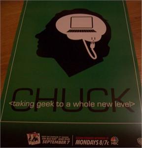 Chuck 2010 Comic-Con EXCLUSIVE promo poster