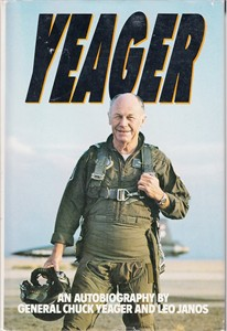 Chuck Yeager autographed Press On! hardcover book