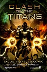 Clash of the Titans movie 2010 Comic-Con comic book