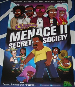The Cleveland Show 2012 Comic-Con mini 11x17 FOX promo poster