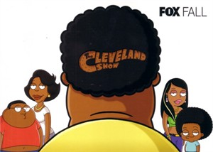The Cleveland Show 2009 Comic-Con Fox 5x7 promo card