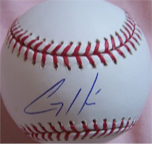 Corey Hart autographed MLB baseball