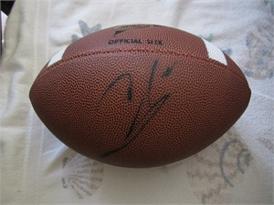 Colt McCoy (Texas) autographed Wilson NCAA football