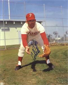 Cookie Rojas autographed 8x10 Philadelphia Phillies photo