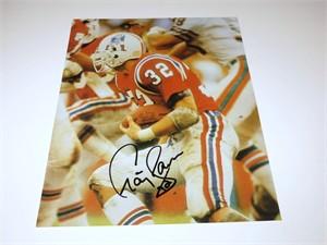 Craig James autographed New England Patriots 8x10 photo