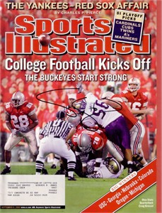 Craig Krenzel autographed Ohio State Buckeyes 2003 Sports Illustrated