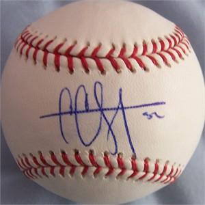 CC Sabathia autographed MLB baseball