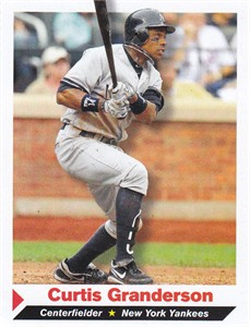 Curtis Granderson New York Yankees 2011 Sports Illustrated for Kids card