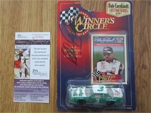 Dale Earnhardt Sr. autographed 1997 Winner's Circle diecast car (JSA)