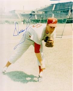Dallas Green autographed Philadelphia Phillies 8x10 photo
