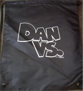 Dan Vs. logo 2012 Wondercon promotional backpack or book bag