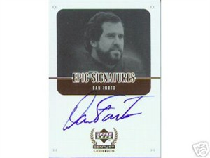 Dan Fouts certified autograph San Diego Chargers Upper Deck Century Legends card