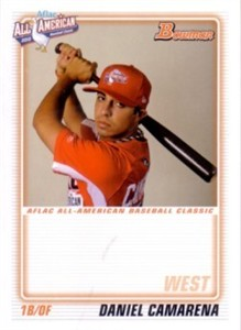 Daniel Camarena 2010 AFLAC Bowman Rookie Card