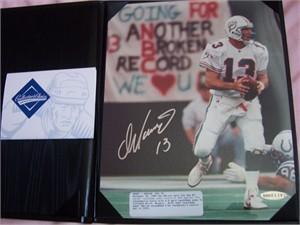 Dan Marino autographed Miami Dolphins 8x10 TD Pass #343 photo UDA