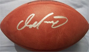 Dan Marino autographed Wilson NFL game model football (Mounted Memories)