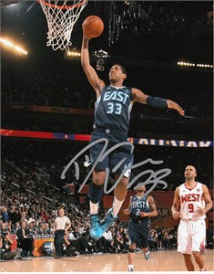 Danny Granger autographed Indiana Pacers 2009 NBA All-Star Game 8x10 photo