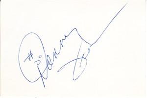 Danny Jackson autographed paper receipt (cut signature)