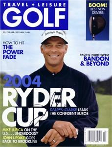 Darren Clarke autographed Travel & Leisure Golf magazine cover