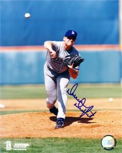 Darren Dreifort autographed Los Angeles Dodgers 8x10 photo
