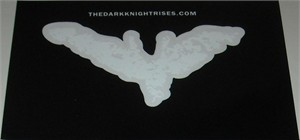 Dark Knight Rises movie 2012 Comic-Con promo decal or sticker