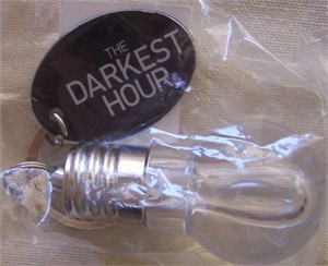 Darkest Hour 2011 Comic-Con promo lightbulb flashlight keychain