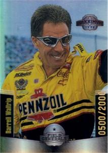 Darrell Waltrip 1998 Maxx Field Generals NASCAR insert card #9 MINT #500/2000