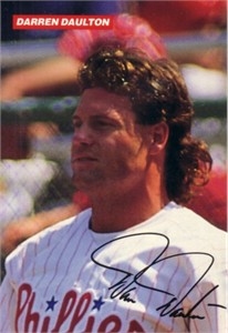 Darren Daulton 1993 Philadelphia Phillies 4x6 photo card