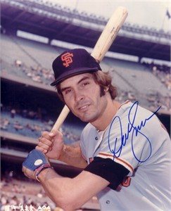 Dave Kingman autographed 8x10 San Francisco Giants photo