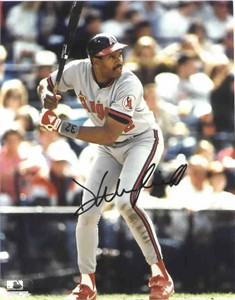 Dave Winfield autographed Angels 8x10 photo