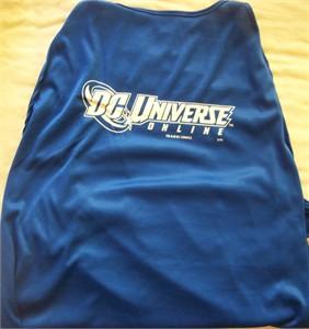 DC Universe Online 2011 Comic-Con promo cape MINT