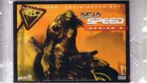 Dead Speed 2010 Comic-Con series 2 promo card set