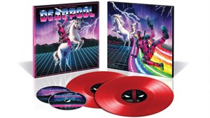 Deadpool 2017 Comic-Con exclusive vinyl soundtrack Blu-ray DVD limited edition package