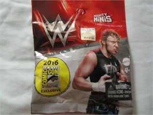 Dean Ambrose 2016 Comic-Con exclusive WWE Mighty Minis action figure