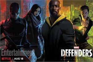 Defenders 2017 Comic-Con exclusive Marvel mini 13x20 inch poster