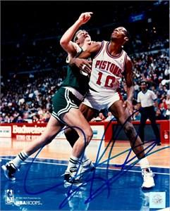 Dennis Rodman autographed Detroit Pistons 8x10 photo
