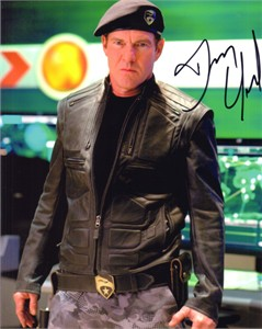 Dennis Quaid autographed 8x10 G.I. Joe Rise of Cobra photo