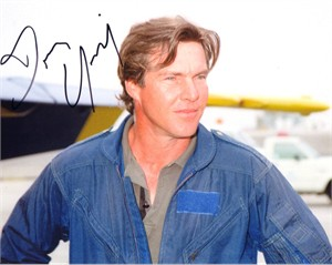 Dennis Quaid autographed 8x10 photo