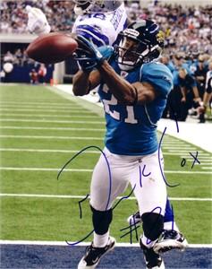Derek Cox autographed Jacksonville Jaguars 8x10 photo