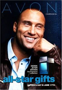 Derek Jeter 2012 Avon catalog MINT